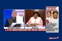 Kiran Bedi On Warpath With Puducherry Government