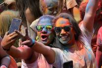 Holi celebrations in Spain