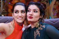 Star Spotting: Sunny Leone, Taapsee Pannu,  Sushmita Sen, Kirti Sanon, Raveena Tondon...