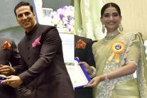 K Vishwanath, Akshay Kumar, Sonam Kapoor honoured at 64th National Film Awards Function