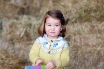 Princess Charlotte Elizabeth Diana, celebrates her 2nd birthday