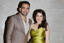 Zaheer Khan and Sagarika Ghatge's engagement