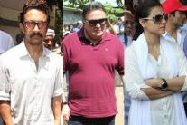 Bollywood celebrities at Reema Lagoo's funeral