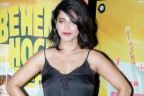 Shruti Haasan at the screening of 'Behen Hogi Teri'