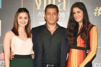 IIFA 2017: Salman Khan, Katrina Kaif and Alia Bhatt at IIFA 2017 press conference