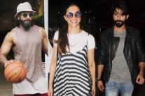 Star Spotting: Ranveer Singh, Deepika Padukone, Shahid Kapoor, Disha Patani, Sara Ali Khan...