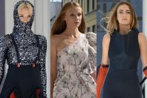 Street Fashion Show in Poland's Warsaw