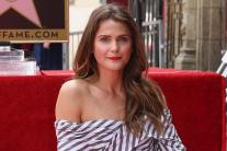 Keri Russell honoured with a star on the Hollywood Walk of Fame
