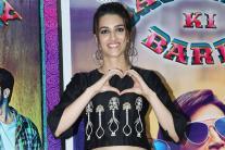 Kriti Sanon's Birthday Celebration with 'Bareilly Ki Barfi' team