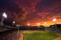 10 Spectacular Baseball Park Sunsets