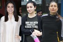 Star Spotting: Anushka Sharma, Shahid Kapoor, Kareena Kapoor, Alia Bhatt, Ileana D'Cruz...