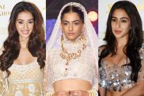 Sonam Kapoor, Sara Ali Khan, Disha Patani at fashion event in New Delhi