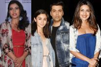 Star Spotting: Kajol, Priyanka Chopra, Alia Bhatt, Karan Johar, Taapsee Pannu...