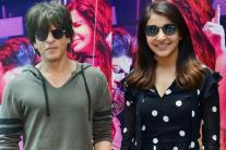 Shah Rukh Khan, Anushka Sharma at 'Jab Harry Met Sejal' Special Screening