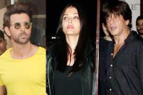 Star Spotting: Shah Rukh Khan, Aishwarya Rai Bachchan, Hrithik Roshan, Ajay Devgn, Ranveer Singh...