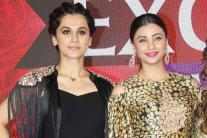 Taapsee Pannu, Daisy Shah at Savvy Excellence Awards 2017
