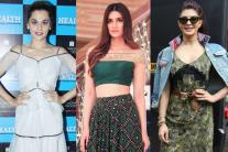 Star Spotting: Jacqueline Fernandez, Sonakshi Sinha, Kriti Sanon, Kangana Ranaut, Taapsee Pannu...