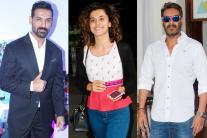 Star Spotting: Ajay Devgn, John Abraham, Taapsee Pannu, Varun Dhawan, Ranbir Kapoor...