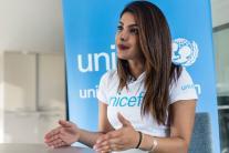 Priyanka Chopra, a UNICEF Goodwill Ambassador in Jordan