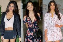 Star Spotting: Nidhhi Agerwal, Pooja Hegde, Kiara Advani, Zareen Khan, Jhanvi kapoor...