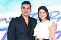 Sunny Leone, Arbaaz Khan at 'Tera Intezaar' Poster launch event