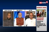 Swamy And Owaisi Lock Horns Over 'Stateless' Rohingyas