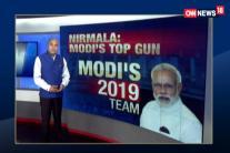 Nirmala Sitharaman Top Gun in Modi's 2019 Team