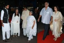 Rani Mukerji's Father Ram Mukherjee's Prayer Meet