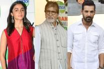 Alia Bhatt, Amitabh Bachchan, John Abraham Celebrate 'Rashtriya Swachhta Divas' in Mumbai