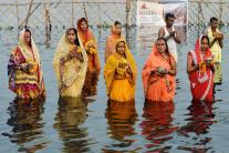 Chhath Puja Celebrations in India