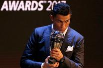Cristiano Ronaldo Wins 2017 FIFA Best Player Award