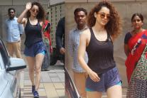 Kangana Ranaut's Stylish Outing In Hot Pants! See Pictures...