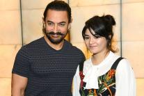 Aamir Khan promotes Secret Superstar in Delhi