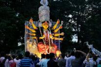 Durga Puja Immersion Carnival in Kolkata