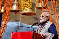 PM Modi Offers Prayers At Kedarnath Shrine