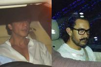 SRK, Aamir Visit Rani Mukerji's House To Offer Condolences