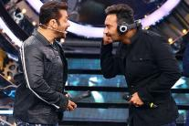 Salman Khan, Ajay Devgn at Bigg Boss 11 Weekend Ka Vaar