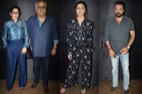 Alia Bhatt, Sanjay Dutt and Sridevi at 'Secret Superstar' Screening