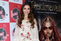 Deepika Padukone Promotes 'Padmavati' at Fever FM Studio