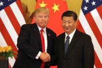 Donald Trump Meets Chinese President Xi Jinping in Beijing