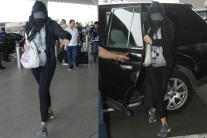 Airport Sightings: This Famous Actress Spotted Hiding Her Face