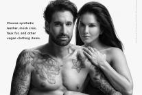 Sunny Leone, Daniel Weber Bare It All for PETA! See Pictures...