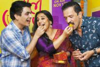 Vidya Balan Celebrates The Success Of 'Tumhari Sulu'