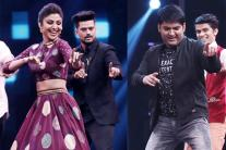 Kapil Sharma Shakes Leg With Shilpa Shetty on Super Dancer 2