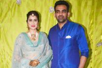 Zaheer Khan & Sagarika Ghatge's Mehendi Ceremony