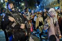 Halloween Parade Marches on Despite New York Terror Attack