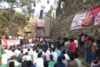 Padmavati Protest: Effigies of Stars Hung at Chittorgarh Fort