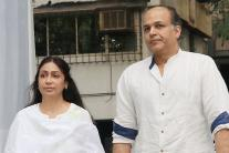Bollywood Bigwigs At Neeraj Vora's Chautha Ceremony