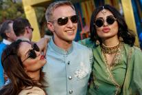 Aashka Goradia's Mehendi: TV Stars Have Gala Time