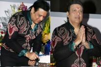 Govinda Celebrates his Birthday with Media! See Pictures